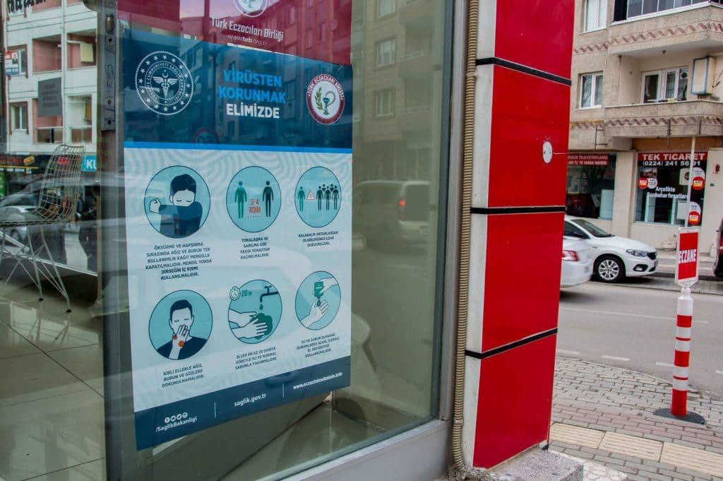Koronavírus v Turecku. Blog o Turecku Nazaar