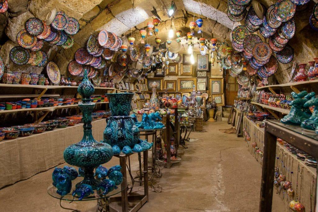 Obchod v Kapadókii. Blog o Turecku. Nazaar.
